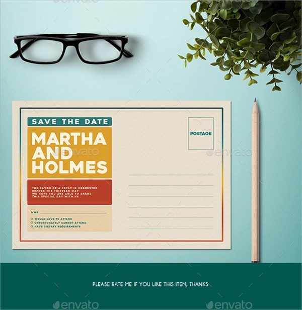 10 Postcard Invitation Templates Sample Templates