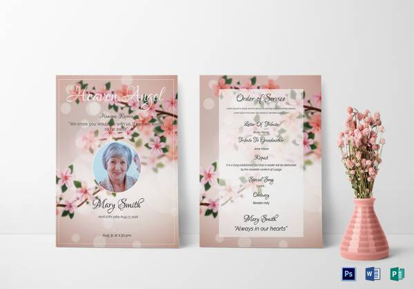 Funeral Invitation Templates In Ms Word