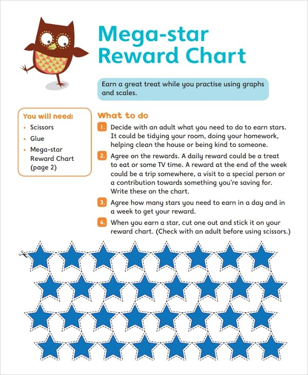 11 Sample Star Chart Templates Sample Templates