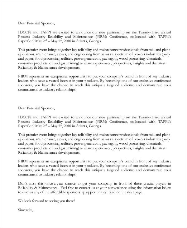 Rodeo Sponsorship Letters  Docoments Ojazlink