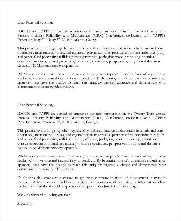 Sponsorship letter sponsorship letter template best sponsorship rodeo sponsorship letters docoments ojazlink thecheapjerseys Images