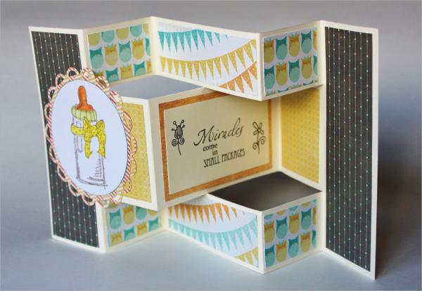 18 Tri Fold Card Templates Sample Templates