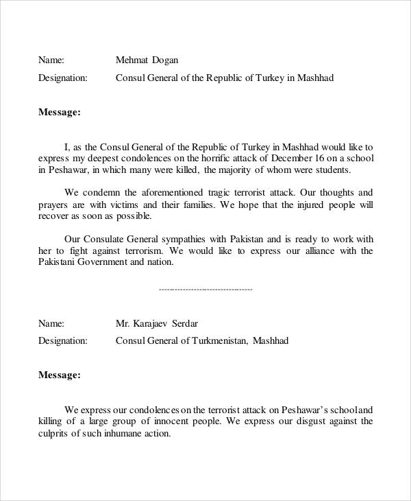 Condolence meeting invitation sample cogimbo invitation letter for condolence meeting create professional altavistaventures Images