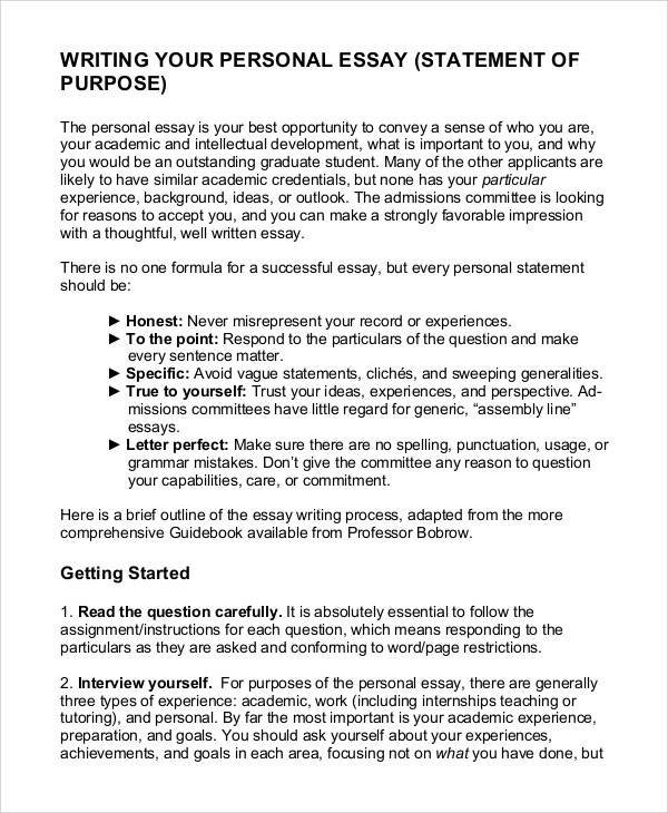 Career Goal Essay Example Essay Writing Top