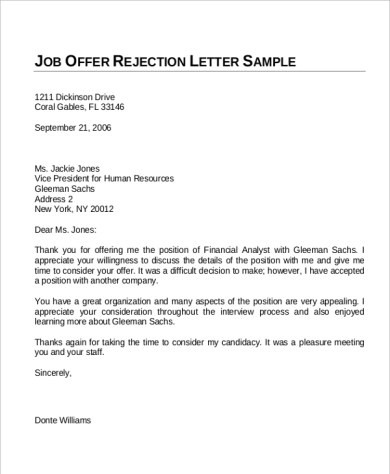 Job Acceptance Letter Email Sample  Essay Company Offers Writing