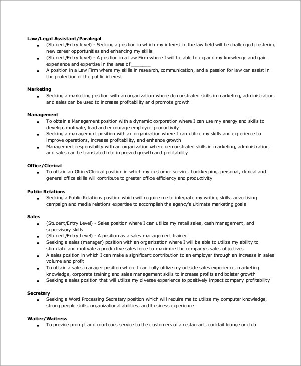 Entry Level Resume Example 10 Samples In Word Pdf