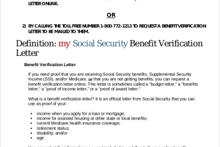 benefit verification letter for ssi poemsrom co social security