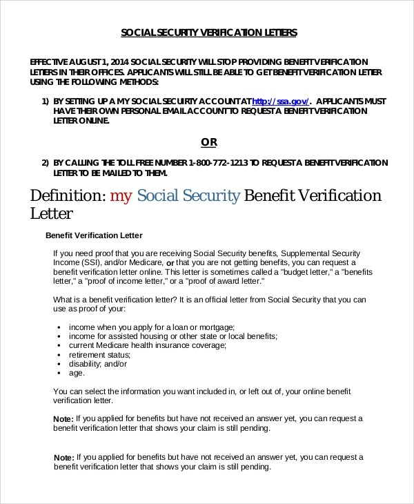 How To Get A Award Letter From Social Security | Docoments Ojazlink