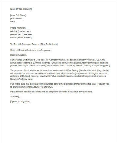 Affidavit reference letter for immigration for Cover letter for affidavit of support