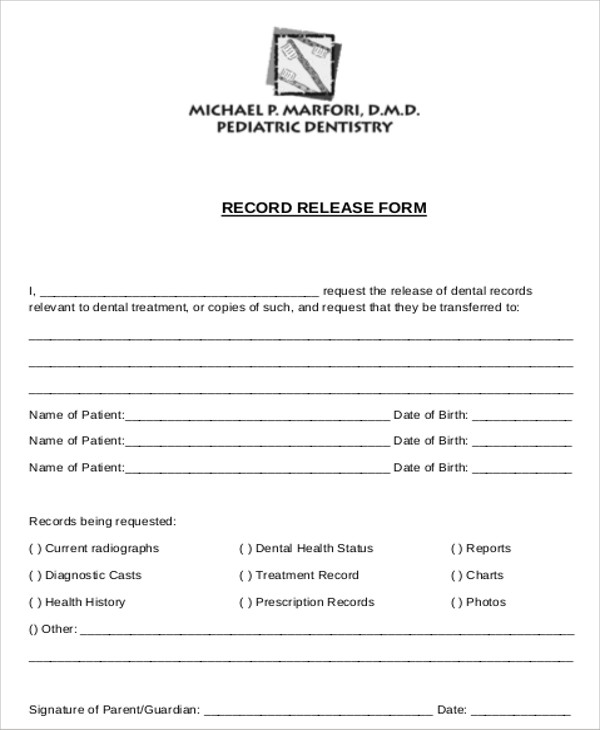 Patient Release Form   Download Free Form Templates And New Template  Designs. Free For Commercial Or Non Commercial Projects, Youu0027re Sure To  Find Something ...