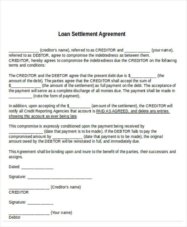 """This debt settlement agreement (the """"agreement"""") states the terms and conditions that govern the contractual agreement between client.company having its principal place of business at address (the """"debtor""""), and sender.company having its principal place of business at address (the """"creditor"""") who agrees to be bound by this agreement as of the effective date. Free 11 Settlement Agreement Samples In Pdf Ms Word Google Docs Pages"""