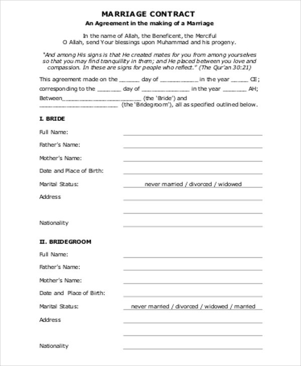 Partnership Agreement Contract Sample 9 Examples In Word PDF Google Docs Apple Pages