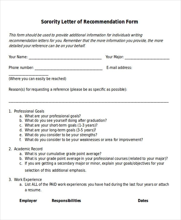 How To Address A Sorority Recommendation Letter  HowstoCo