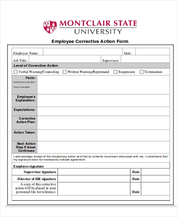 11 Sample Action Report Free Sample Example Format Download
