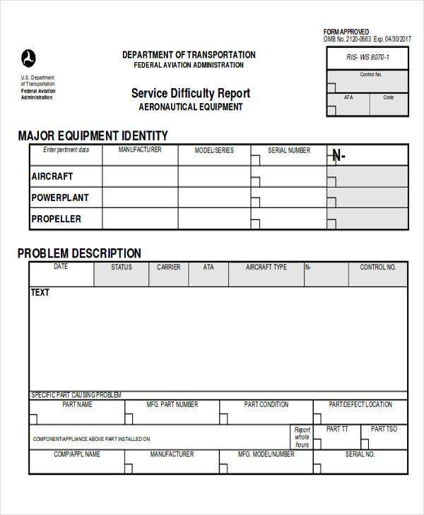 Free 16 Sample Service Reports In Pdf Google Docs Ms