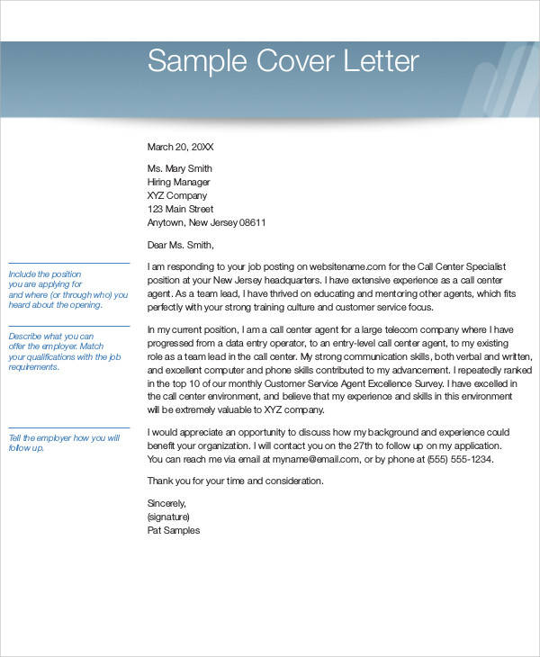4 Data Entry Cover Letters Examples In Word P