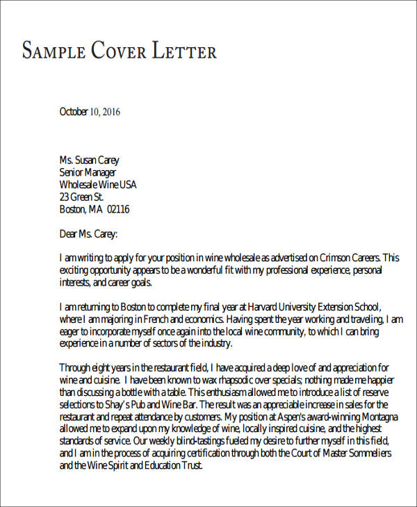Sample Personal Letter Of Recommendation For Medical School Thor