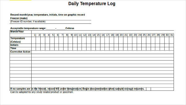 Specify the start time, # of regular hours, and hourly rate (regular and overtime). Free 27 Log Templates In Excel