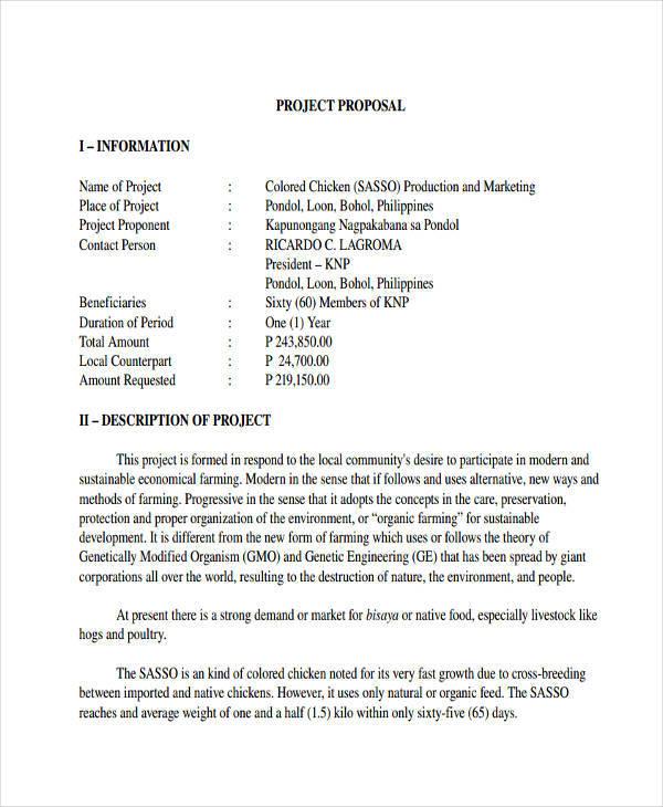 Poultry Farming Business Plan Pdf