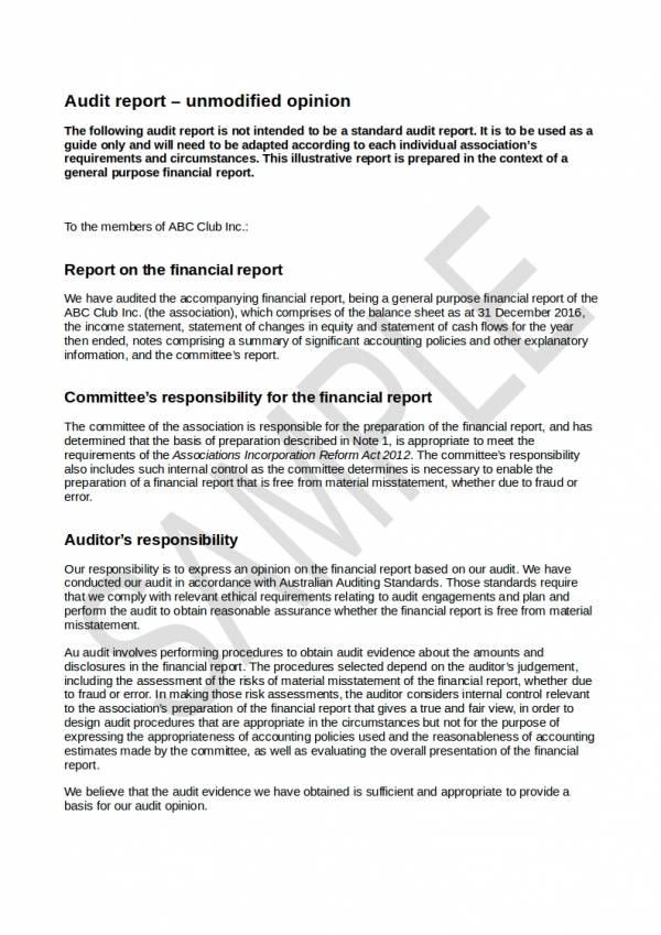 FREE 18 Financial Audit Report Samples Templates In PDF Word Docs Pages