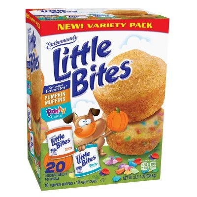 Entenmann S Little Bites Party Cakes And Pumpkin Muffins