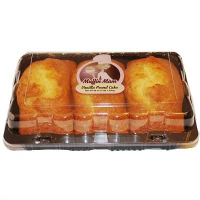 Muffin Mam Vanilla Pound Cake 48 Oz 3 Pk Sam S Club
