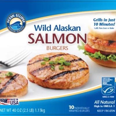 Ocean Eclipse Salmon Burgers 25 lbs Sam39s Club