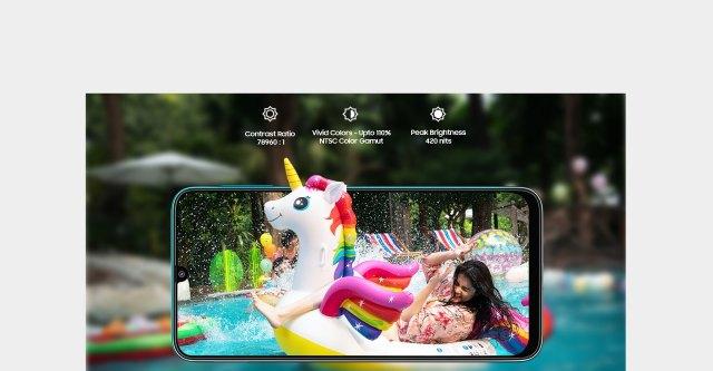 "Galaxy F41 - 16.21cm (6.4"") Full HD+ sAMOLED Infinity-U Display"