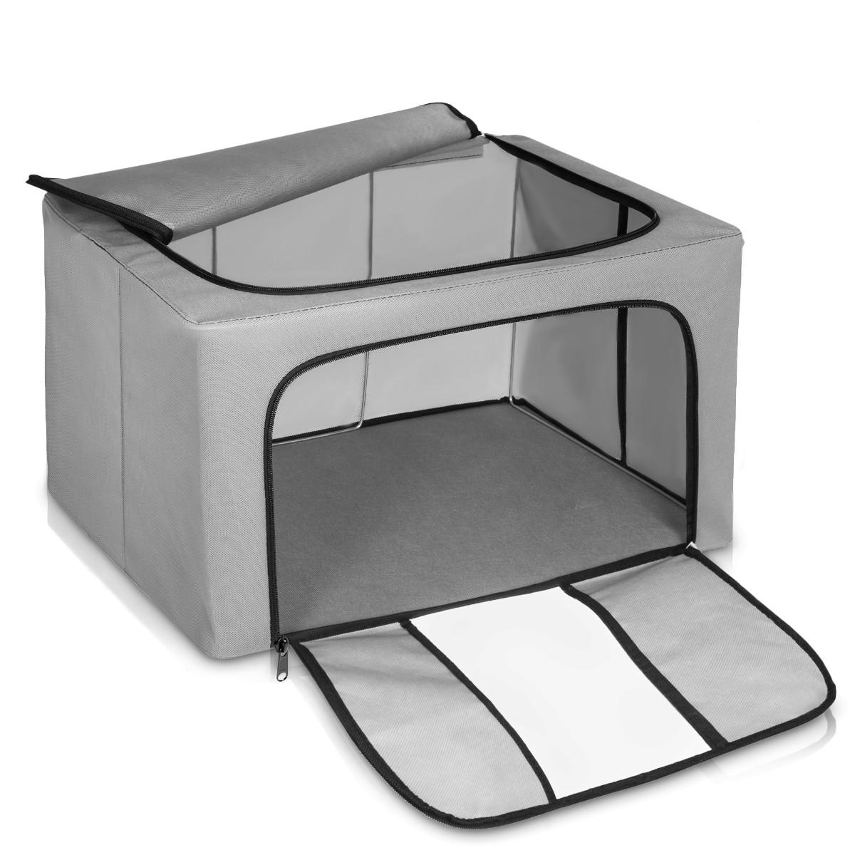 3xclothing Organizer Bags Foldable Storage Box Xl Capacity