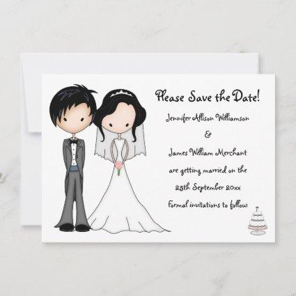 Check out our cartoon save date selection for the very best in unique or custom,. Cartoon Save The Date Cards Save The Date Cards