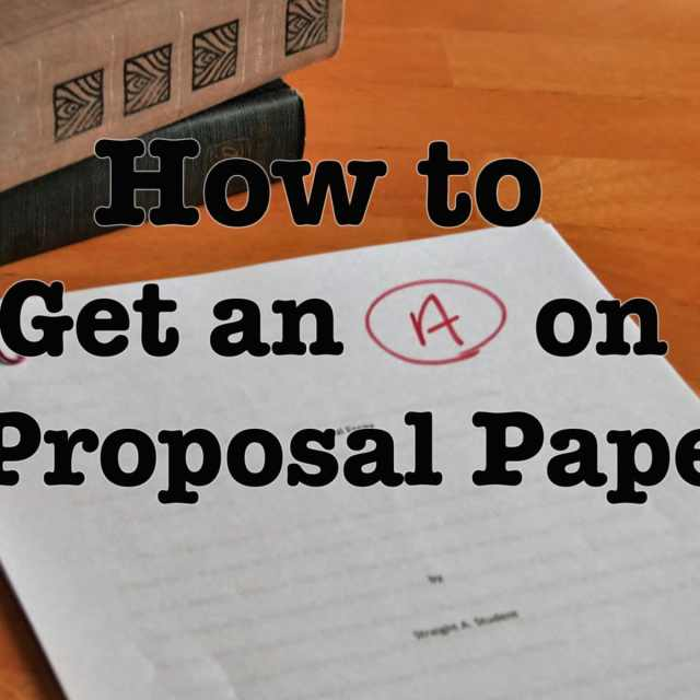 How to Write a Proposal Essay/Paper - Owlcation
