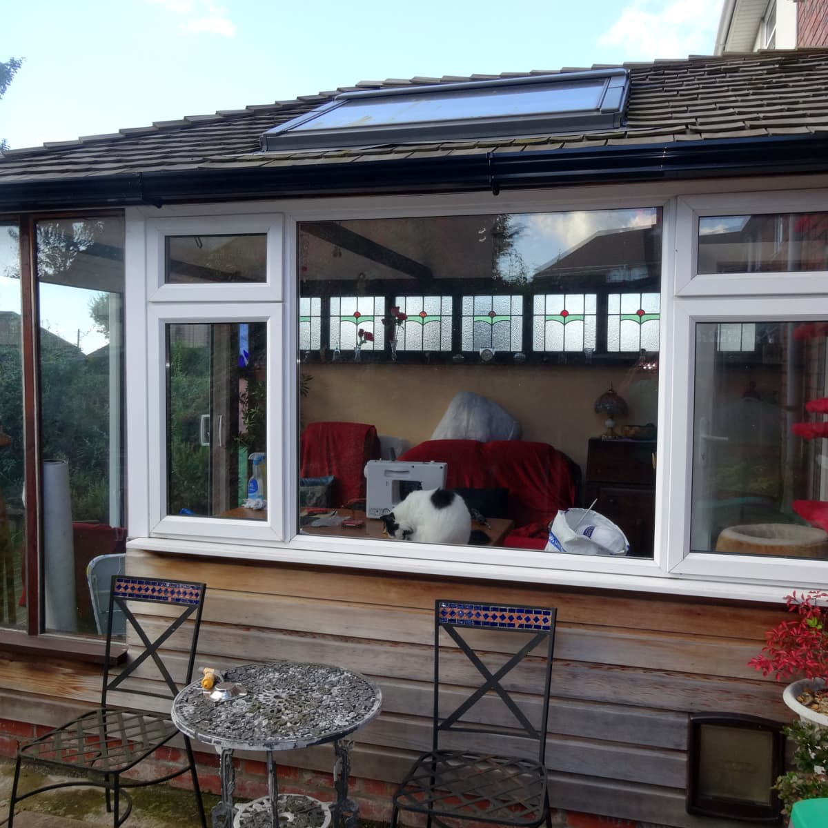 to build a timber frame conservatory