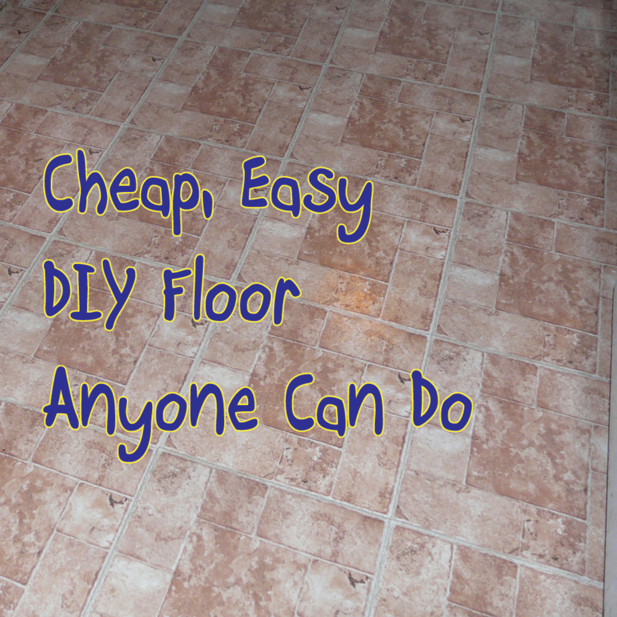 how to lay peel and stick vinyl tile