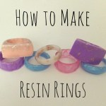 How To Make A Resin Ring Feltmagnet Crafts