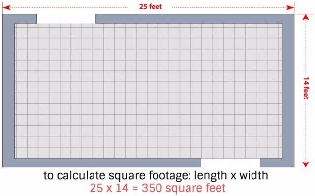 30 Steps to Calculate How Much Tile You Need - Dengarden