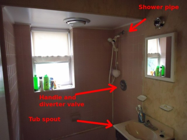 How to Replace a Single-Handle Shower Valve - Dengarden