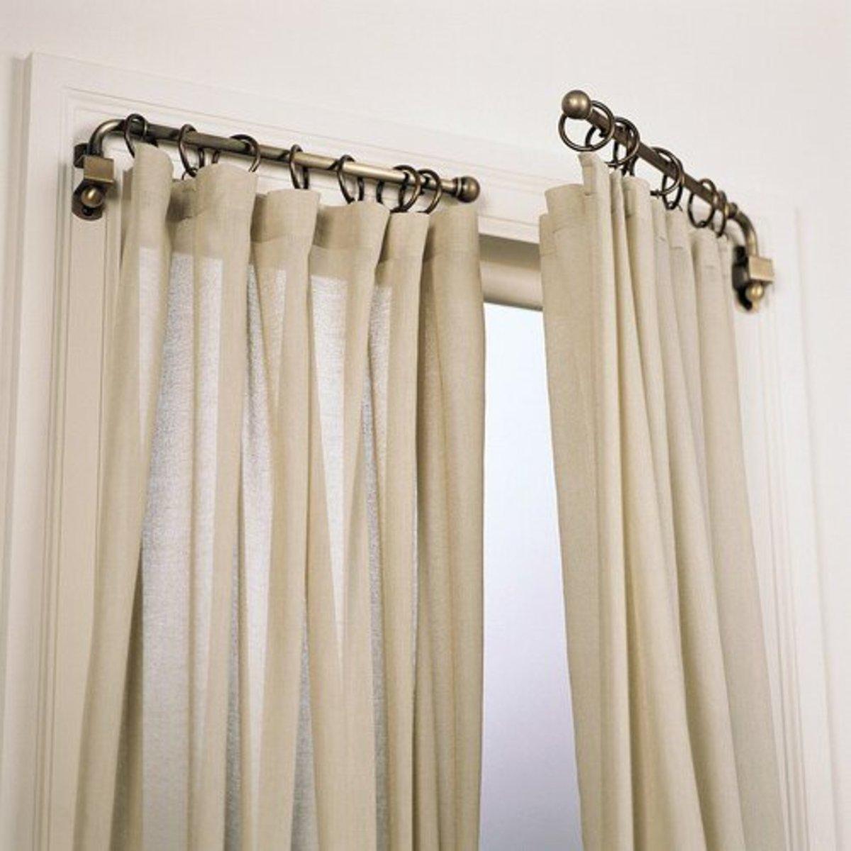 understanding different curtain rod