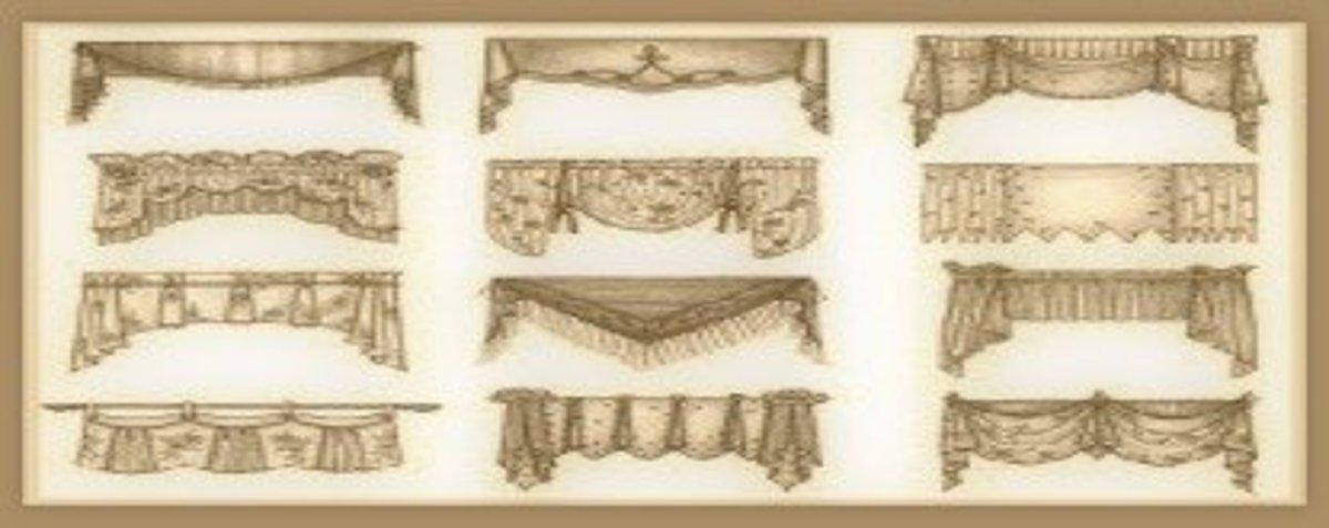 common drapery terminology basic