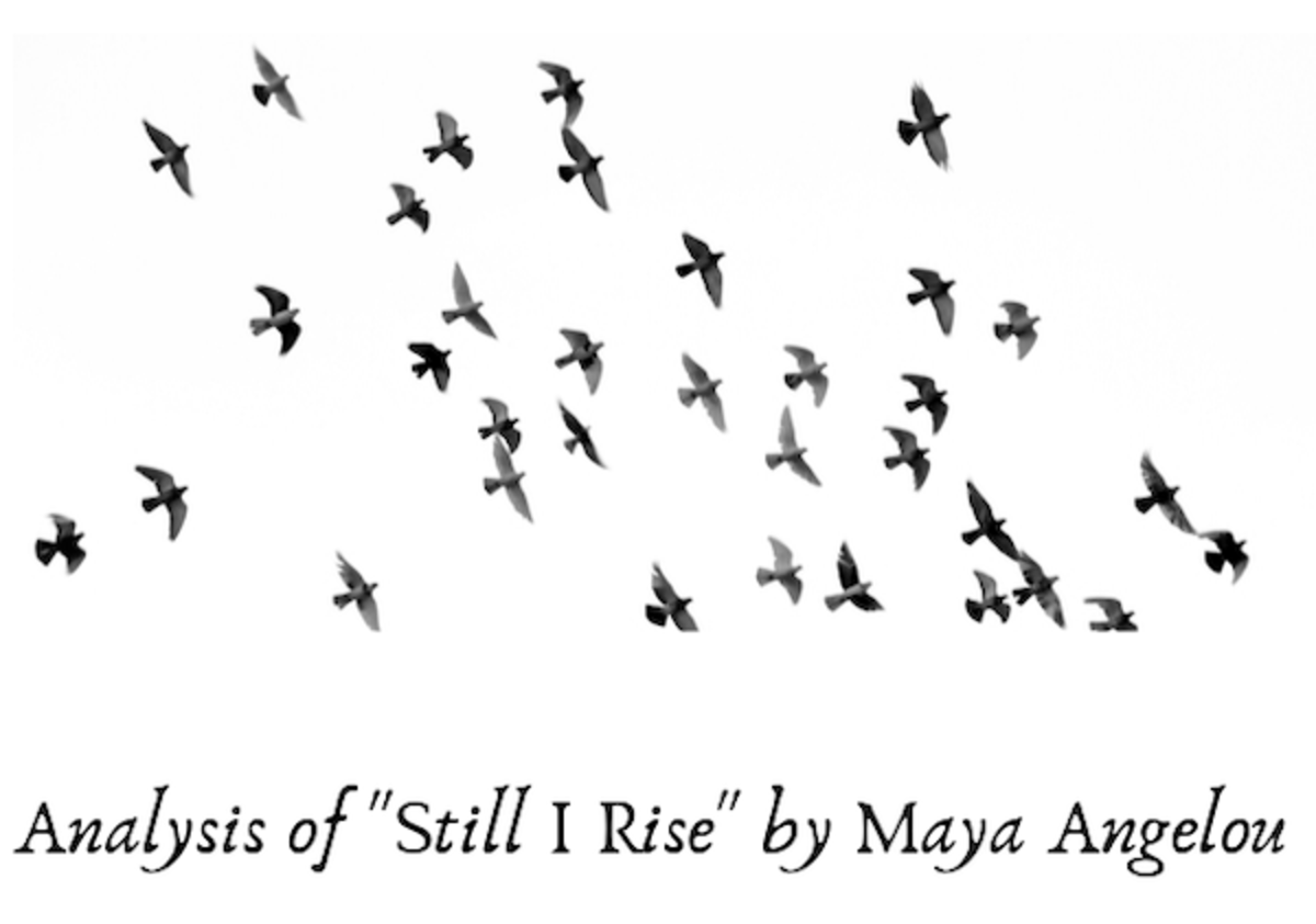 Ysis Of The Poem Still I Rise By Maya Angelou