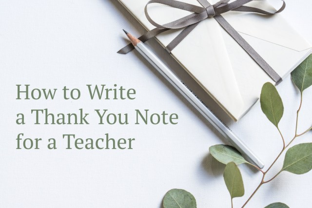 Thank You Notes for Daycare Providers and Teachers - Holidappy