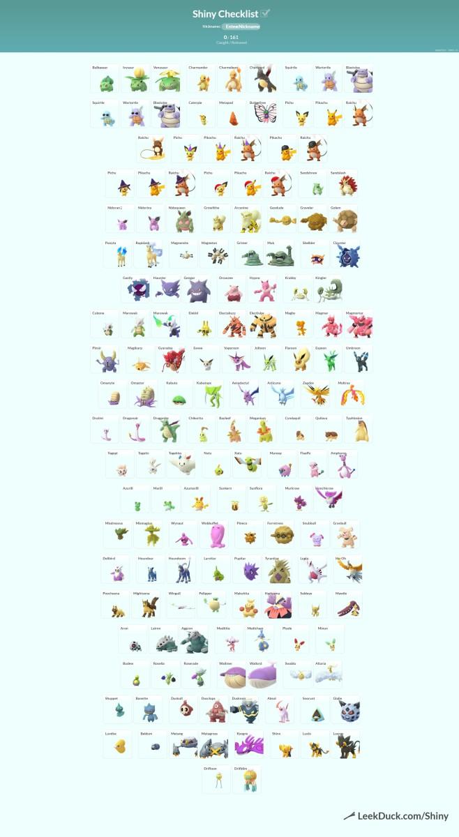Pokemon Go Shiny Hunting Guide Levelskip
