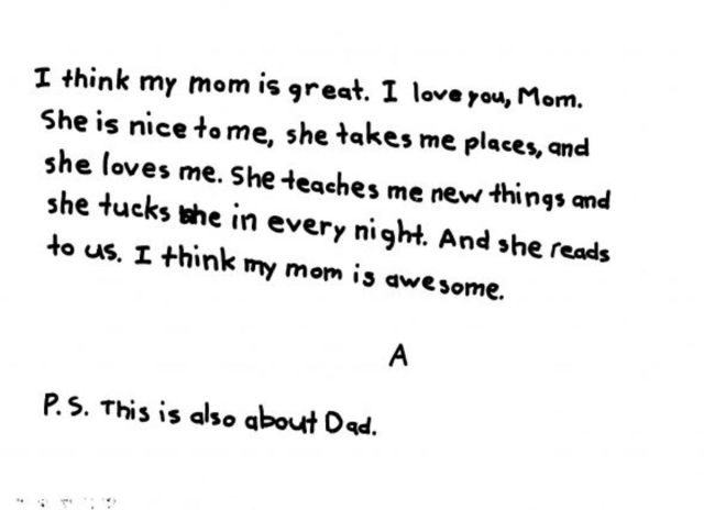 Examples of Love Letters for Kids - WeHaveKids