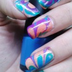 Easy Water Marble Nail Art Technique Bellatory Fashion And Beauty