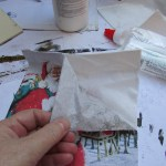 How To Make Decoupage Rocks As Christmas Ornaments Holidappy Celebrations
