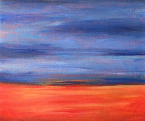 Easy Acrylic Painting Ideas Abstract Landscape Feltmagnet Crafts