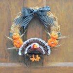 11 Free Fall Thanksgiving Wreaths Crochet Patterns Feltmagnet Crafts