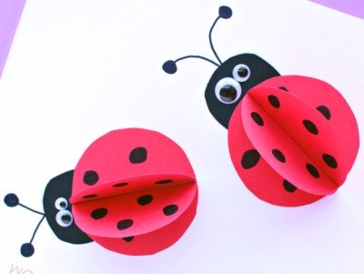 Ladybug, ladybug fly away home crafts, coloring and more! 40 Fun And Easy Ladybug Craft Ideas Feltmagnet
