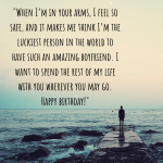 Heart Touching Happy Birthday Wishes For A Long Distance Boyfriend Holidappy Celebrations