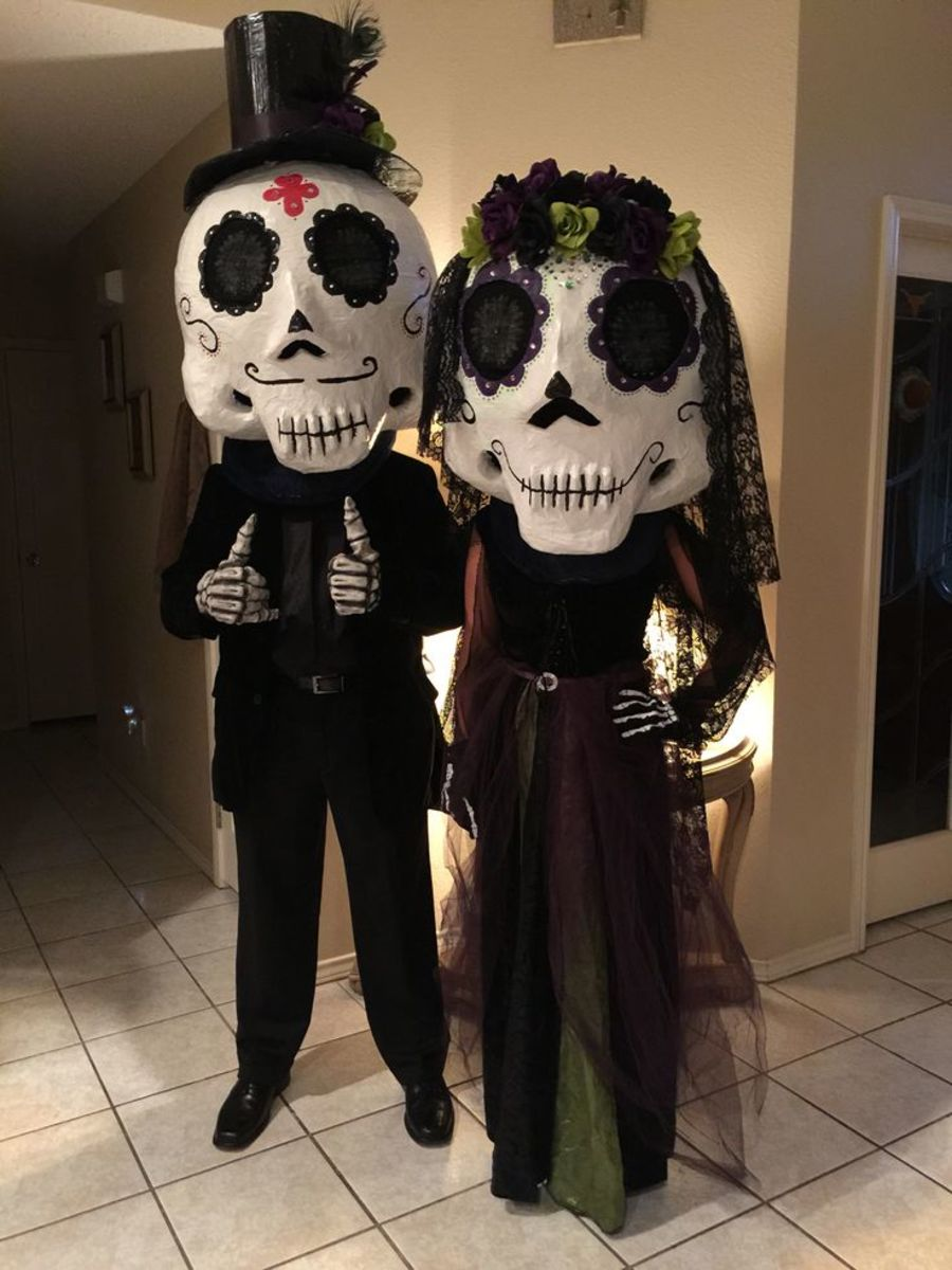 It is the day before all saints' day … The Day Of The Dead Vs Halloween Holidappy