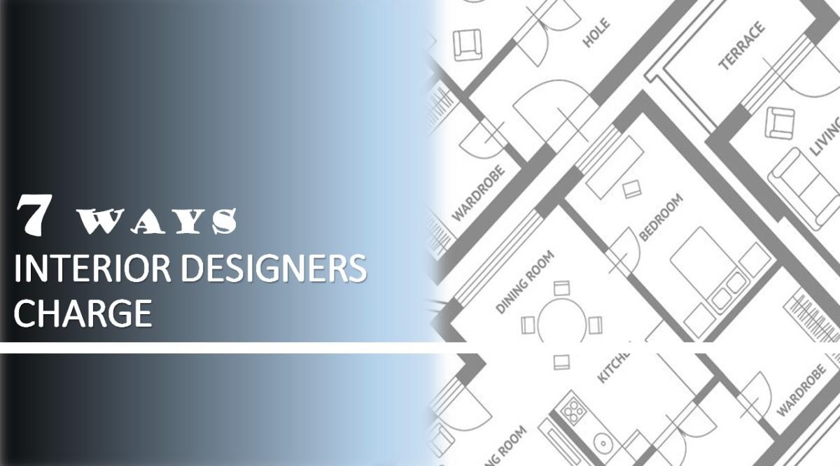 certified interior designer charging for interior design services